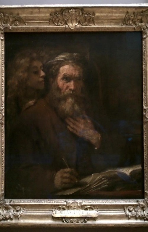 Saint Matthew and the Angel - Rembrandt