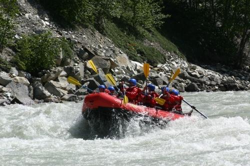 Rafting the Kicking Horse - British Columbia, Canada