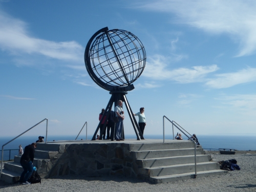 The Globe Monument - North Cape, Norway