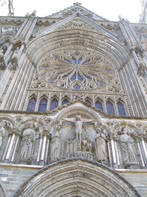 Rose Window and Sculptures Nidarosdo