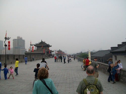 Walkway on top of the Ming City Wall