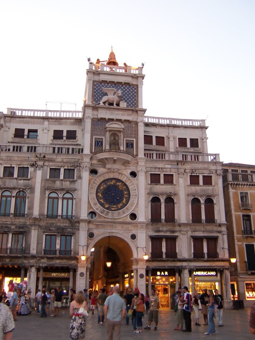 Torre dell'Orologio (Clock Tower) - Venice, Italy (After Renovation)