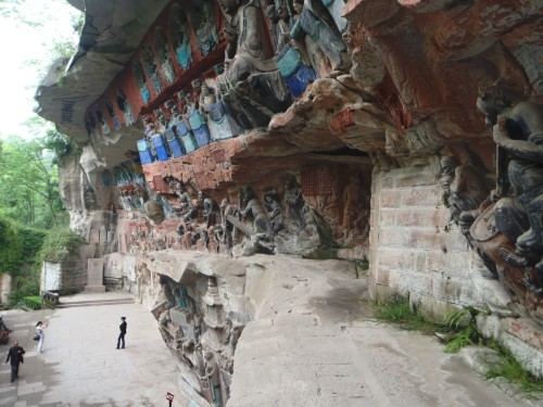 Niche of the Nether World - Baodingshan, China