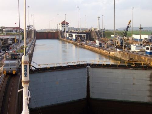 Panama Canal Gates