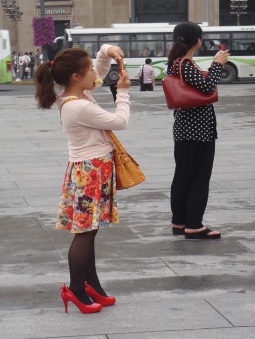 Chinese Women in Shanghai