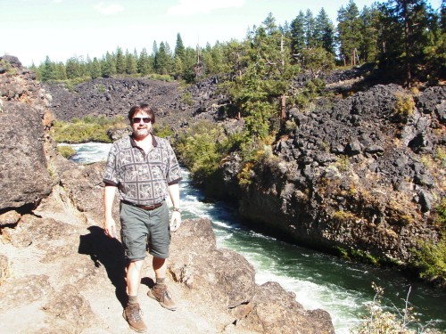Hiking Along the Deschutes River, Oregon