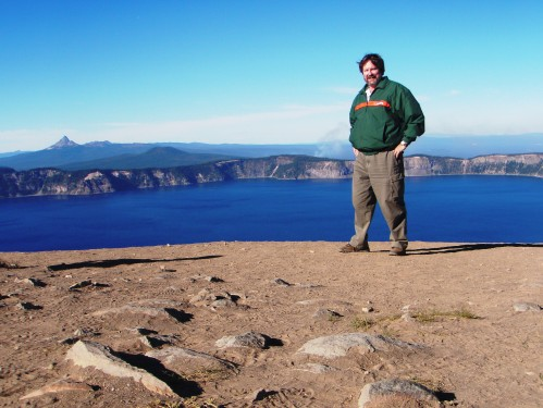Me at Garfield Peak - Crater Lake National Park
