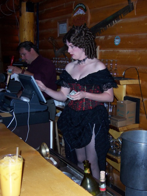 Work at an Alaskan Saloon