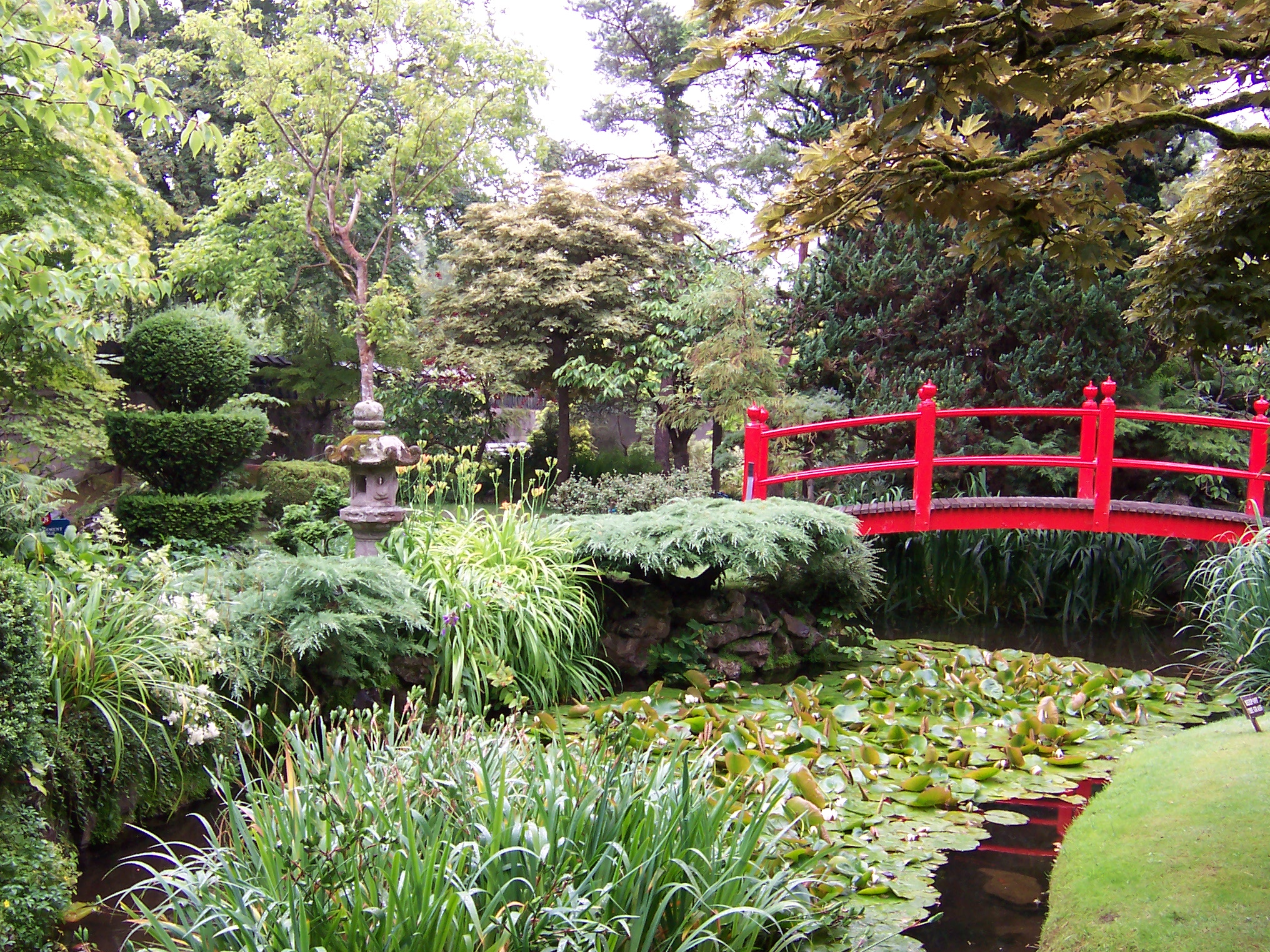 Japanese Gardens At National Stud Near Kildare, Ireland