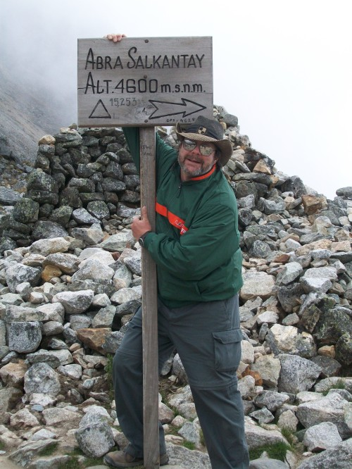 On Top of Salkantay Pass