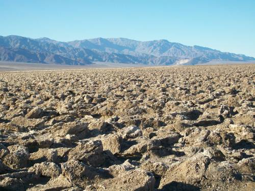 Devil's Golf Course - Death Valley National Park