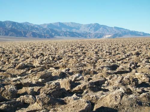 Devil's Golf Course - Death Valley National Park